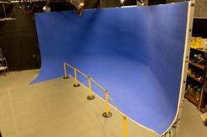 Blue Cyc Wall